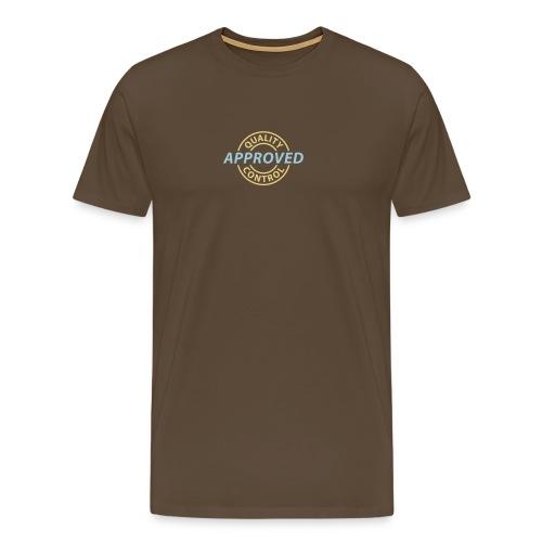 Quality approved mens - Männer Premium T-Shirt