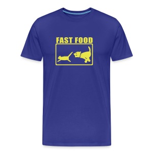 Fast food - Homme - T-shirt Premium Homme