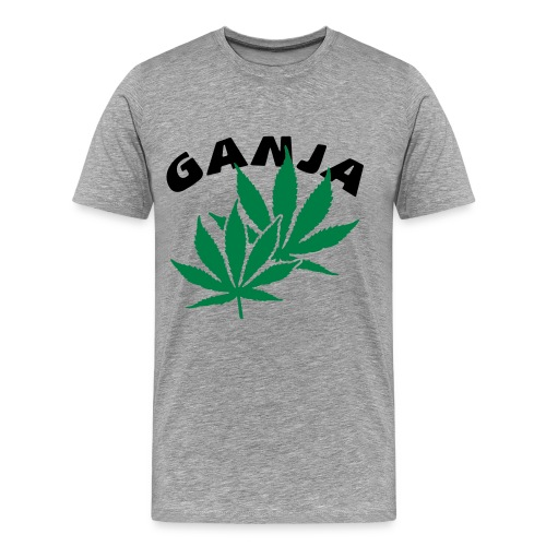 GANJA - Shirt  - Männer Premium T-Shirt