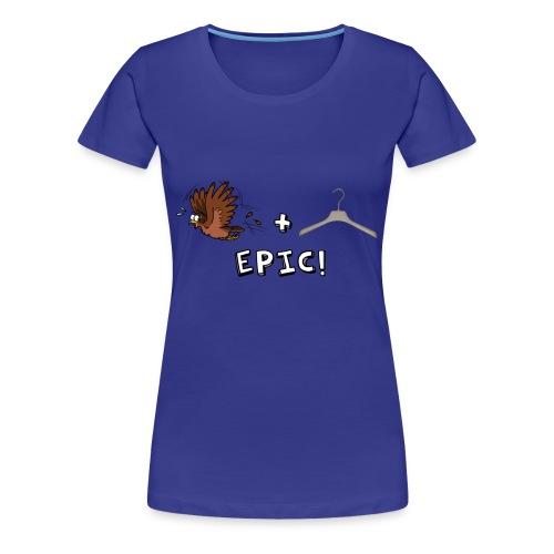 BIRDEMIC (DONNA) - Maglietta Premium da donna
