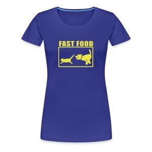 Fast food - Femme - T-shirt Premium Femme
