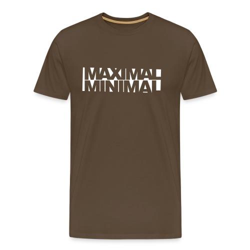 Maximal Minimal - Männer Premium T-Shirt