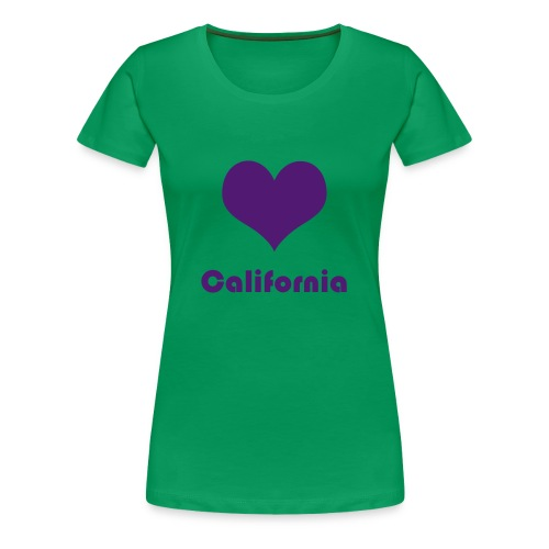 ♥ California - Frauen Premium T-Shirt
