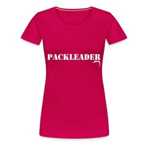 Packleader  - Vrouwen Premium T-shirt