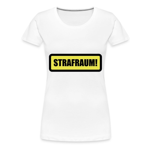 Girlieshirt - Strafraum brust - Frauen Premium T-Shirt