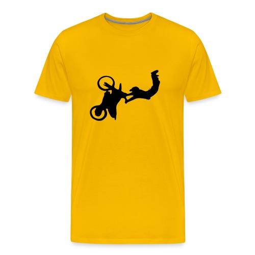 moto jump - Men's Premium T-Shirt