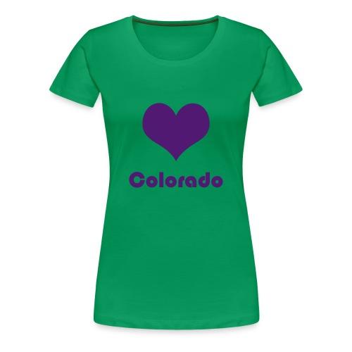 ♥ Colorado - Frauen Premium T-Shirt
