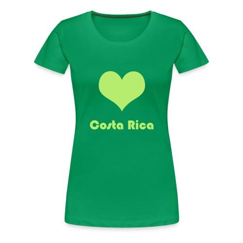 ♥ Costa Rica - Frauen Premium T-Shirt
