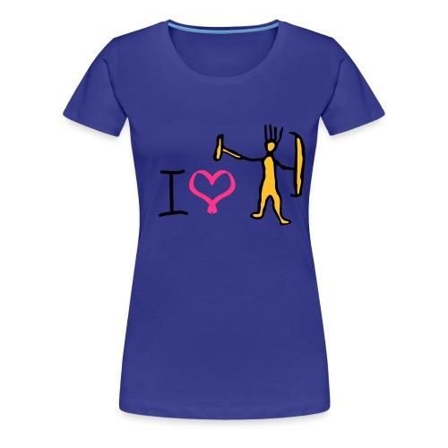 I love trolls girlie t-shirt - Women's Premium T-Shirt