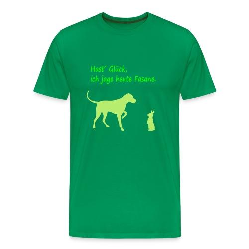 Jagdhund - Männer Premium T-Shirt