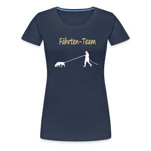 Fährten Team - Frauen Premium T-Shirt