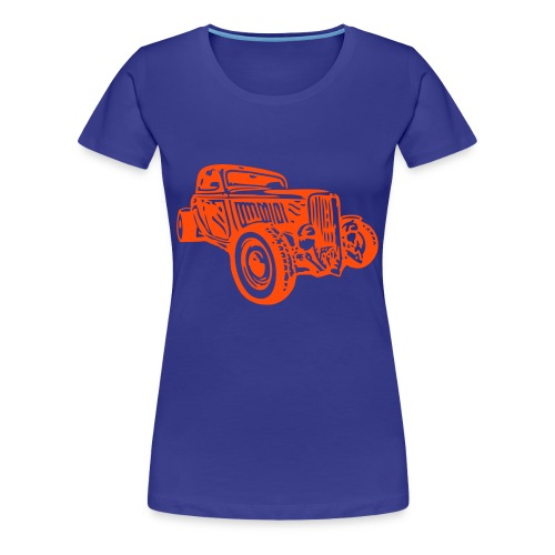 Hot-Rod - Frauen Premium T-Shirt