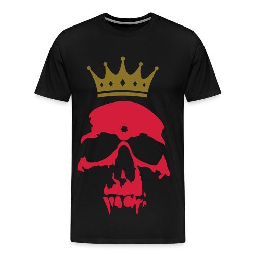 Skull King Shirt - Maglietta Premium da uomo