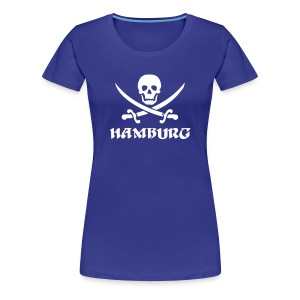 Hamburg Pirat T-Shirt - Frauen Premium T-Shirt