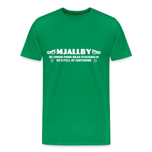 Mjallby - Men's Premium T-Shirt