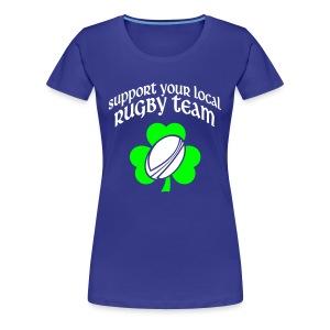 Girls Supporter - Frauen Premium T-Shirt