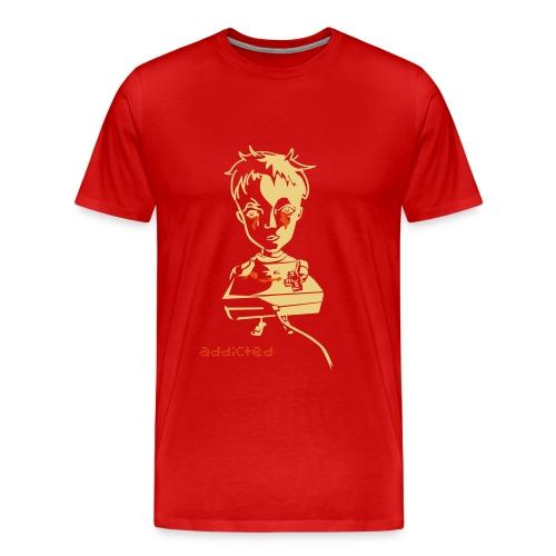 Nintendo Addicted - Männer Premium T-Shirt