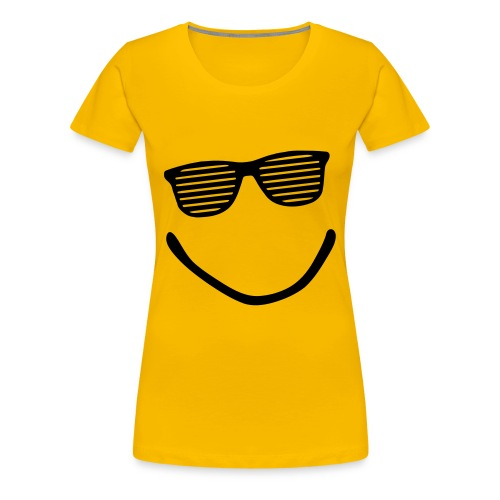 sun smile - T-shirt Premium Femme