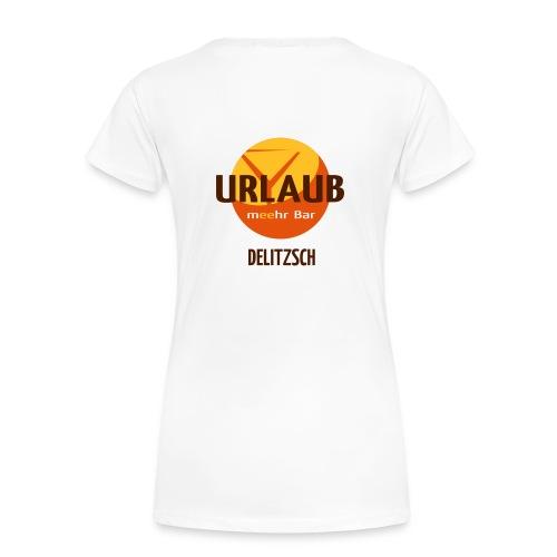Urlaubs Girlie - Frauen Premium T-Shirt