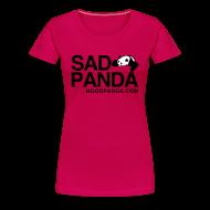 T-Shirts ~ Women's Premium T-Shirt ~ Sad Panda - Women's Classic