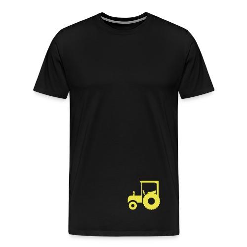 Traktor - Premium T-skjorte for menn