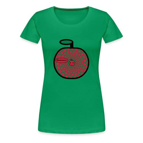 Heartcore von Jule K. - Frauen Premium T-Shirt