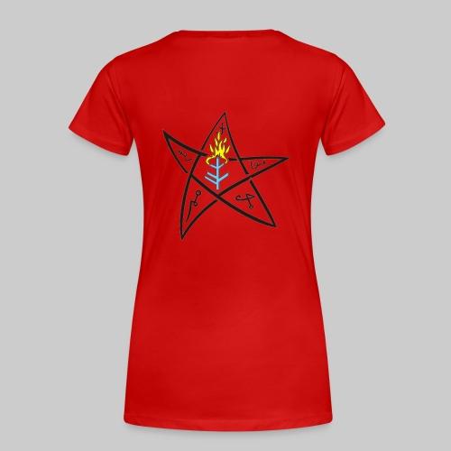 FTGk: The Elder sign (small-sized) according to August Derleth description - Women's Premium T-Shirt
