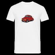 Tee shirts ~ Tee shirt Homme ~ 4cv Rouge