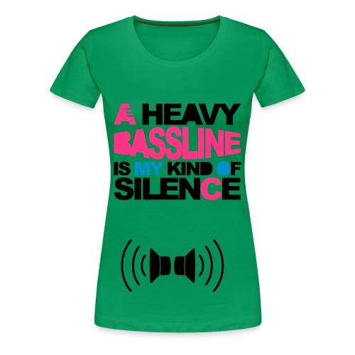 Camiseta Musica - Camiseta premium mujer