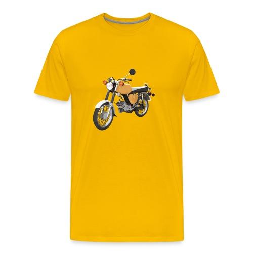 Männershirt S50 saharabraun - Männer Premium T-Shirt