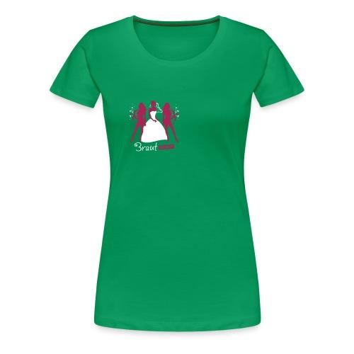 Braut Crew green - Frauen Premium T-Shirt