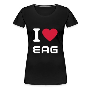 ILUVEAG SHIRT GIRLS - Frauen Premium T-Shirt