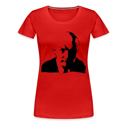 lenin-front - Women's Premium T-Shirt