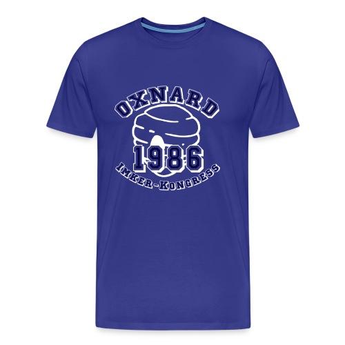 imker_kongress_whiteblue - Männer Premium T-Shirt