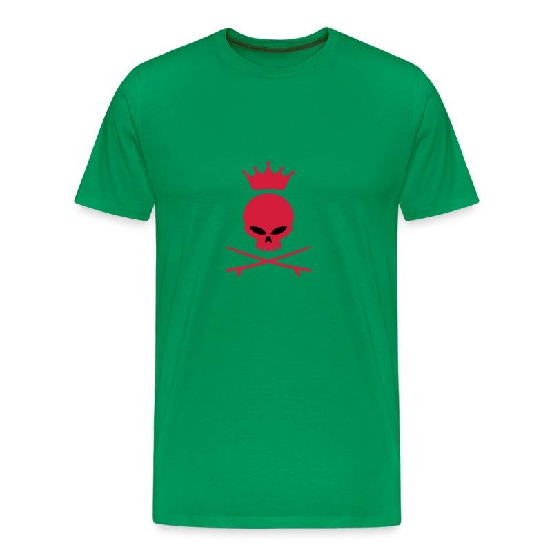 Wheel Dog Skull t-shirt - Men's Premium T-Shirt