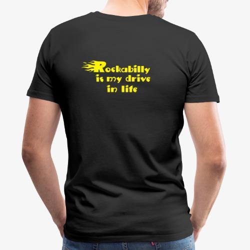 Glowin' Rockabilly :) - Men's Premium T-Shirt
