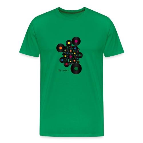its_music bg - Männer Premium T-Shirt