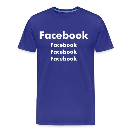 For Man- Facebook-fan T-shirt - Männer Premium T-Shirt