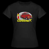 Tee shirts ~ Tee shirt Femme ~ CARBUREX 4cv Rouge