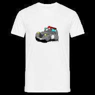 Tee shirts ~ Tee shirt Homme ~ 2cv GRISE