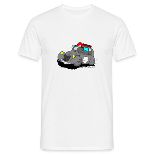 2cv GRISE - T-shirt Homme