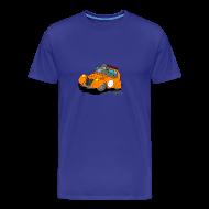 Tee shirts ~ T-shirt Premium Homme ~ 2cv ORANGE