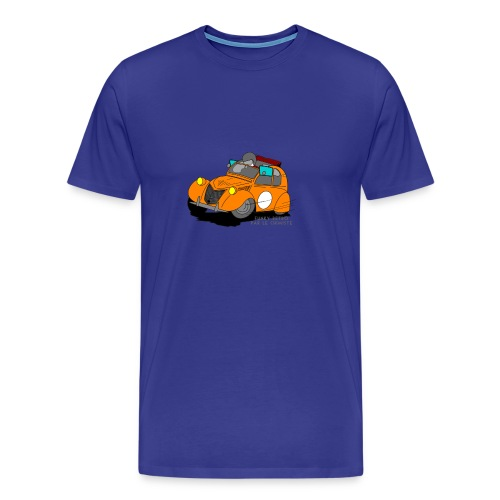 2cv ORANGE - T-shirt Premium Homme