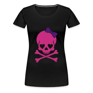 PRETTY SKULL - Women's Premium T-Shirt