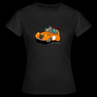 Tee shirts ~ Tee shirt Femme ~ 2cv ORANGE