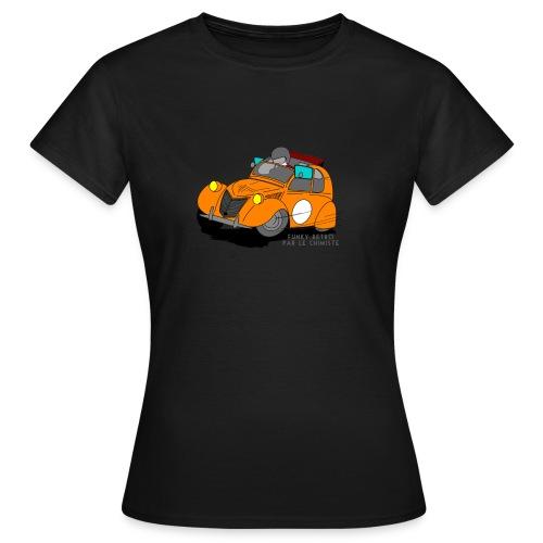 2cv ORANGE - T-shirt Femme