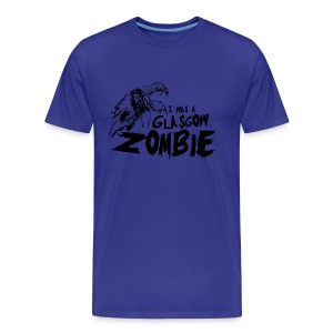 Glasgow Zombie - Men's Premium T-Shirt