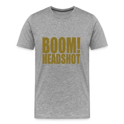 BOOM! Headshot - Männer Premium T-Shirt