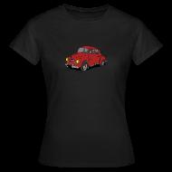 Tee shirts ~ Tee shirt Femme ~ 4cv Rouge