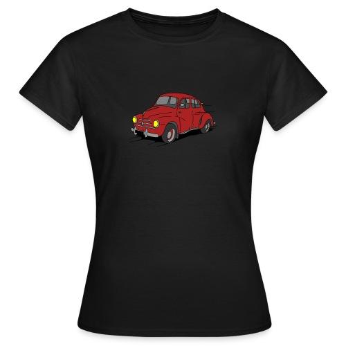 4cv Rouge - T-shirt Femme